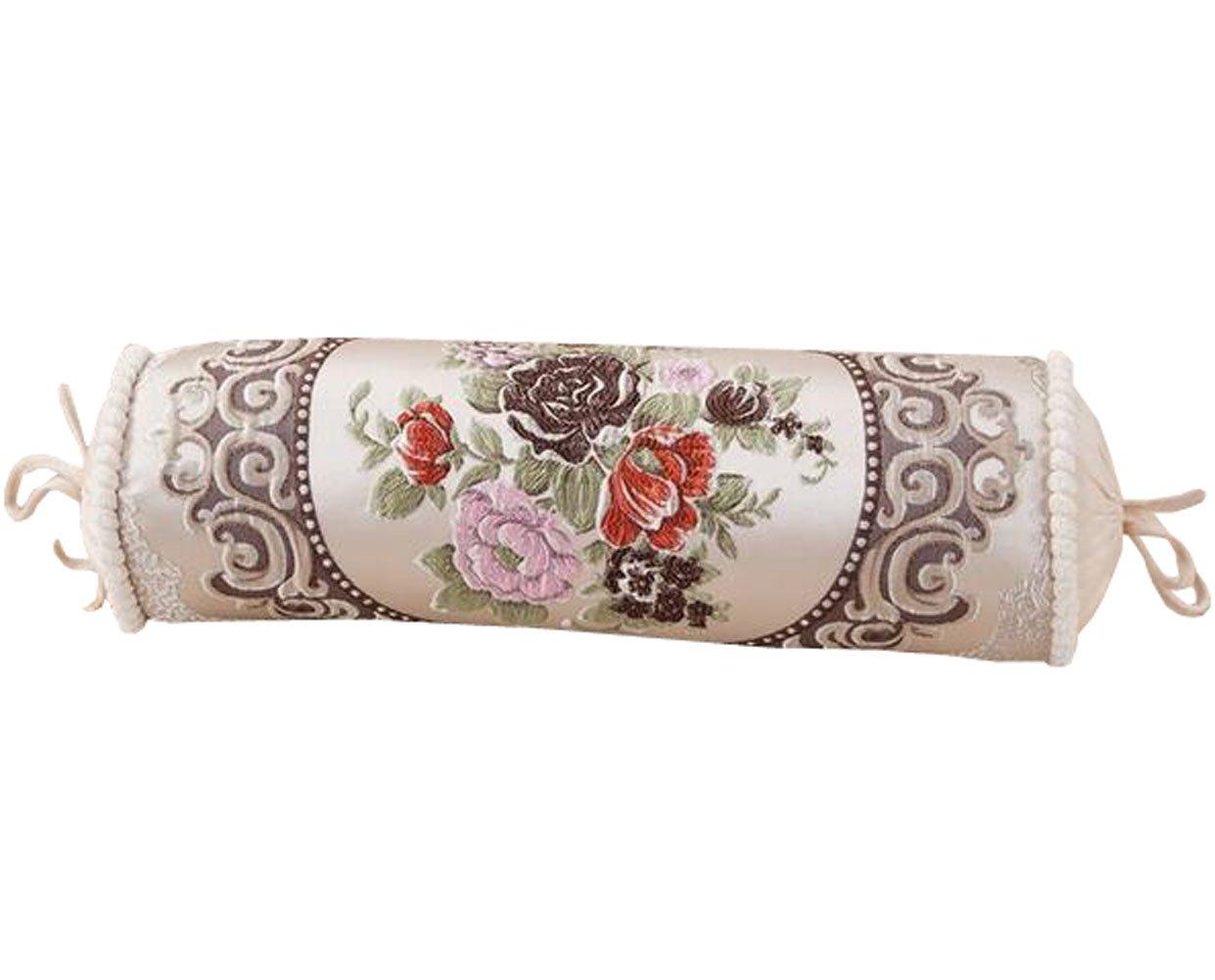 mytodoラウンド円柱Washableスロークッション枕装飾枕 Free size ベージュ MYtodo-23 B075TWZ6Z2 ベージュ