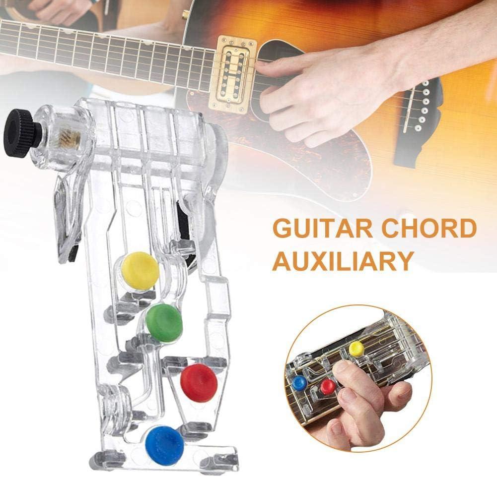 Ablerfly Guitar Chord Auxiliary, Guitar Assistant, Assistant for Playing Chord,Sistema de aprendizaje de guitarra clásica, Herramientas auxiliares para principiantes de guitarra, inger Booster clever