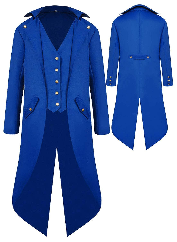 Amazon.com: Renaissance Steampunk Tailcoat Halloween ...