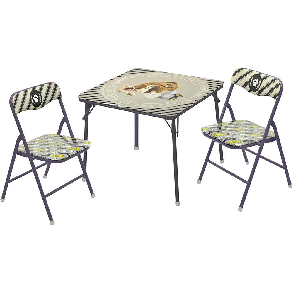 Nickelodeon(s) 3 Piece Secret Life of Pets, Table and Chair Set