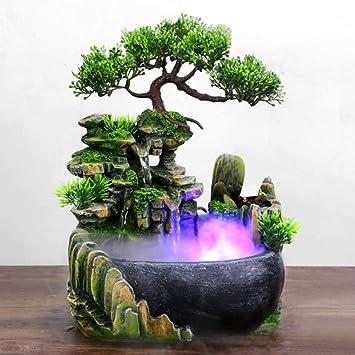 Shop LC Delivering Joy Home and Table Decor Labradorite Dragon Egg Tabletop Fountains