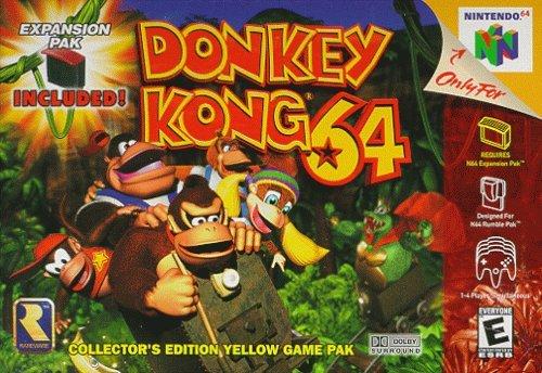 Donkey Kong 64 Nintendo