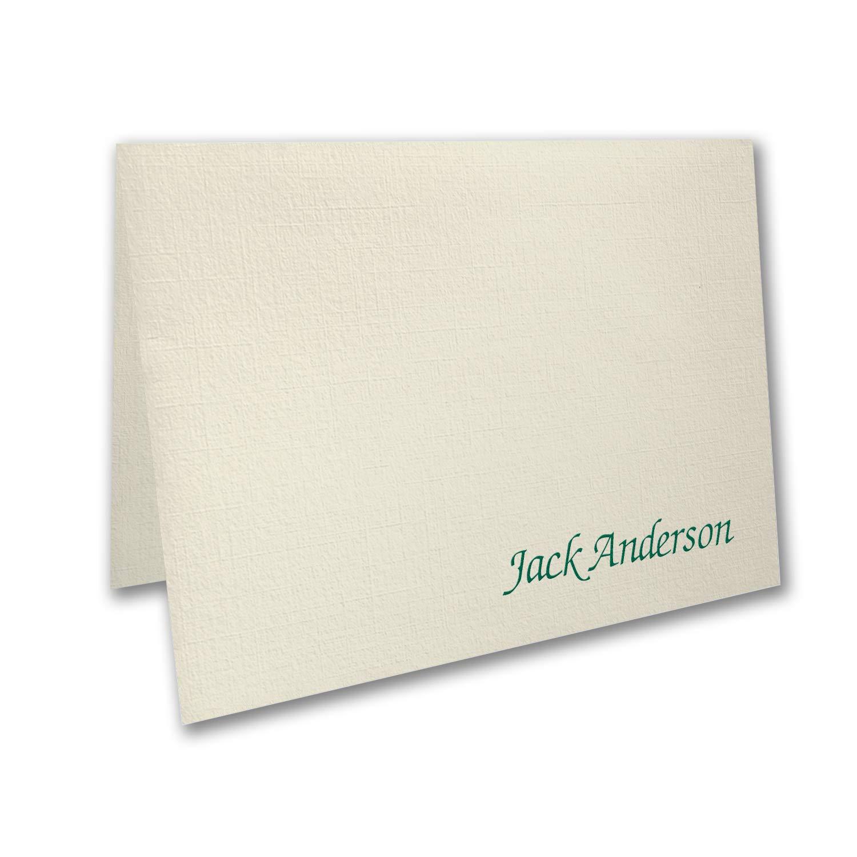 150pk Fresh Linen - Note Folder - Ecru-Shop All Stationery