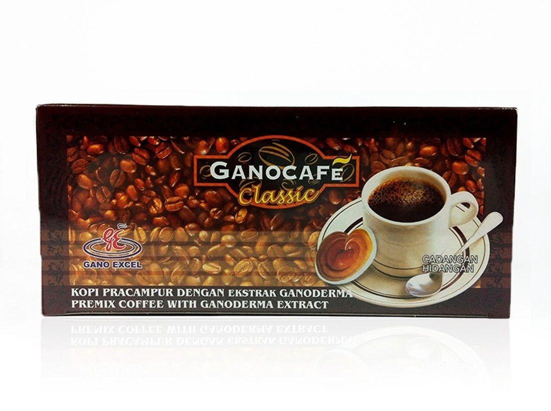 Gano Excel ganocafe Classic Ganoderma saludable café 1 caja/30sachets 90 G.: Amazon.es: Hogar