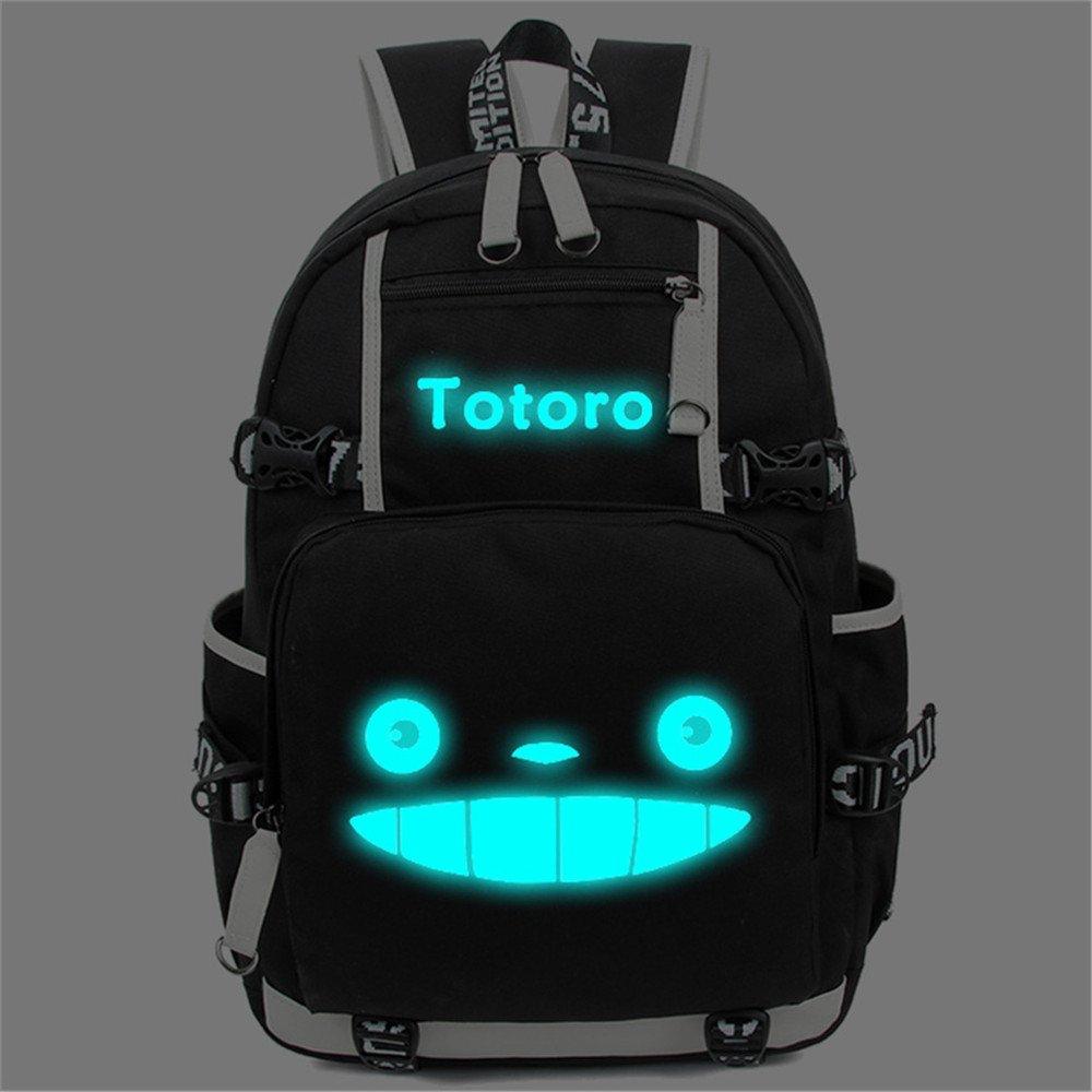Siawasey Anime My Neighbor Totoro Cosplay Luminous Bookbag Backpack Shoulder Bag School Bag