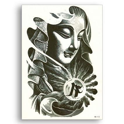 Budista Avalokiteshvara tatuajes falsos Transferencia de agua ...