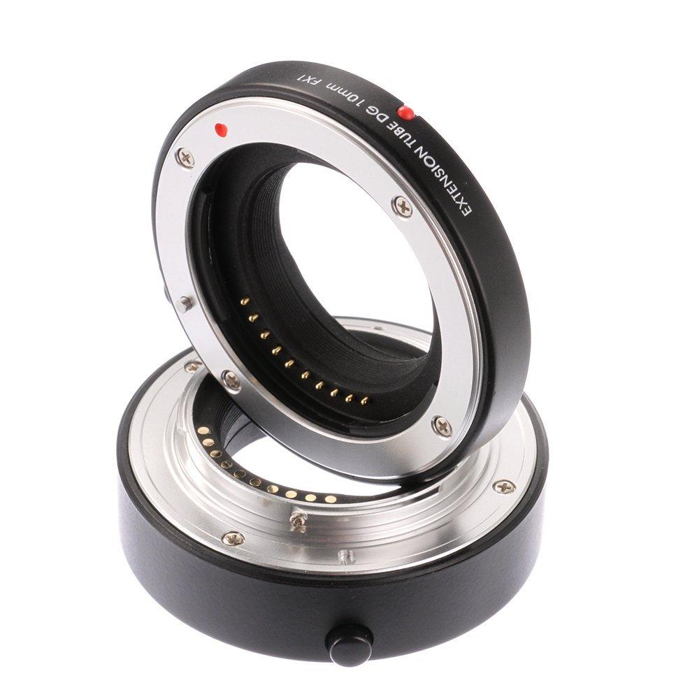 Fotga AFオートフォーカスマクロエクステンションチューブセット10 mm + 16 + mm for x-e2 Fujifilm Fuji B07G259GM7 x-e2 x-m1 X - Pro 1 x-t2 xt10 x-a1 x-e3 FXマウントカメラ B07G259GM7, あかりファーマシー:42913103 --- ijpba.info