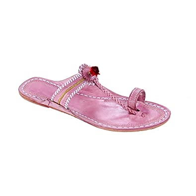 amazon com kolhapuri chappal original attractive baby pink watch