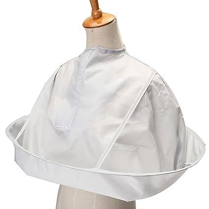 Bluelover Batas De Peluquería Mantener Limpio Hogar Corte Paraguas Cabo Vestido Manto Salón De Tela Barbero