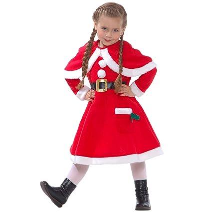 Amazon.com: Niñas Miss Little Helper de Papá Noel niños de ...