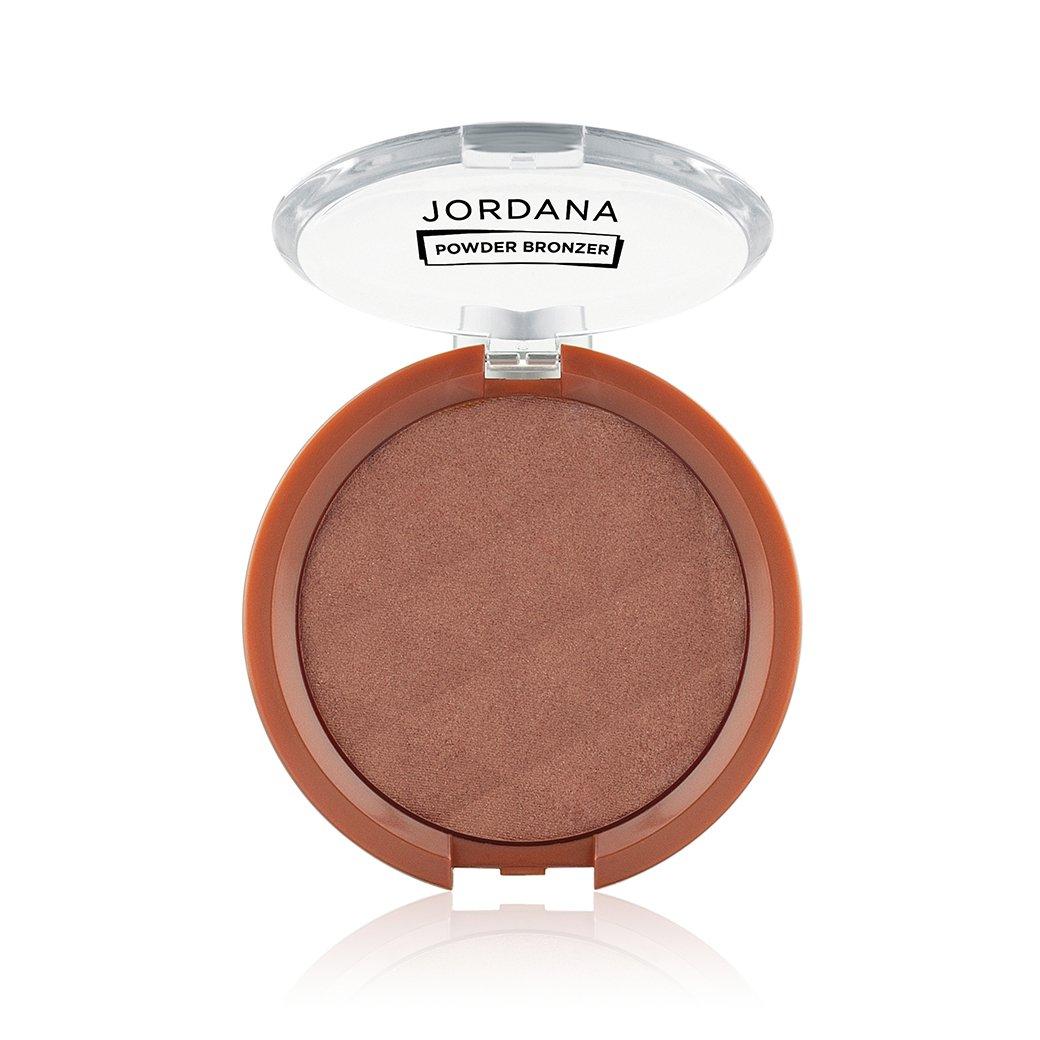 (6 Pack) JORDANA Powder Bronzer - Sunkissed Bronze