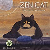Zen Cat 2018 Mini Wall Calendar: Paintings and Poetry by Nicholas Kirsten-Honshin