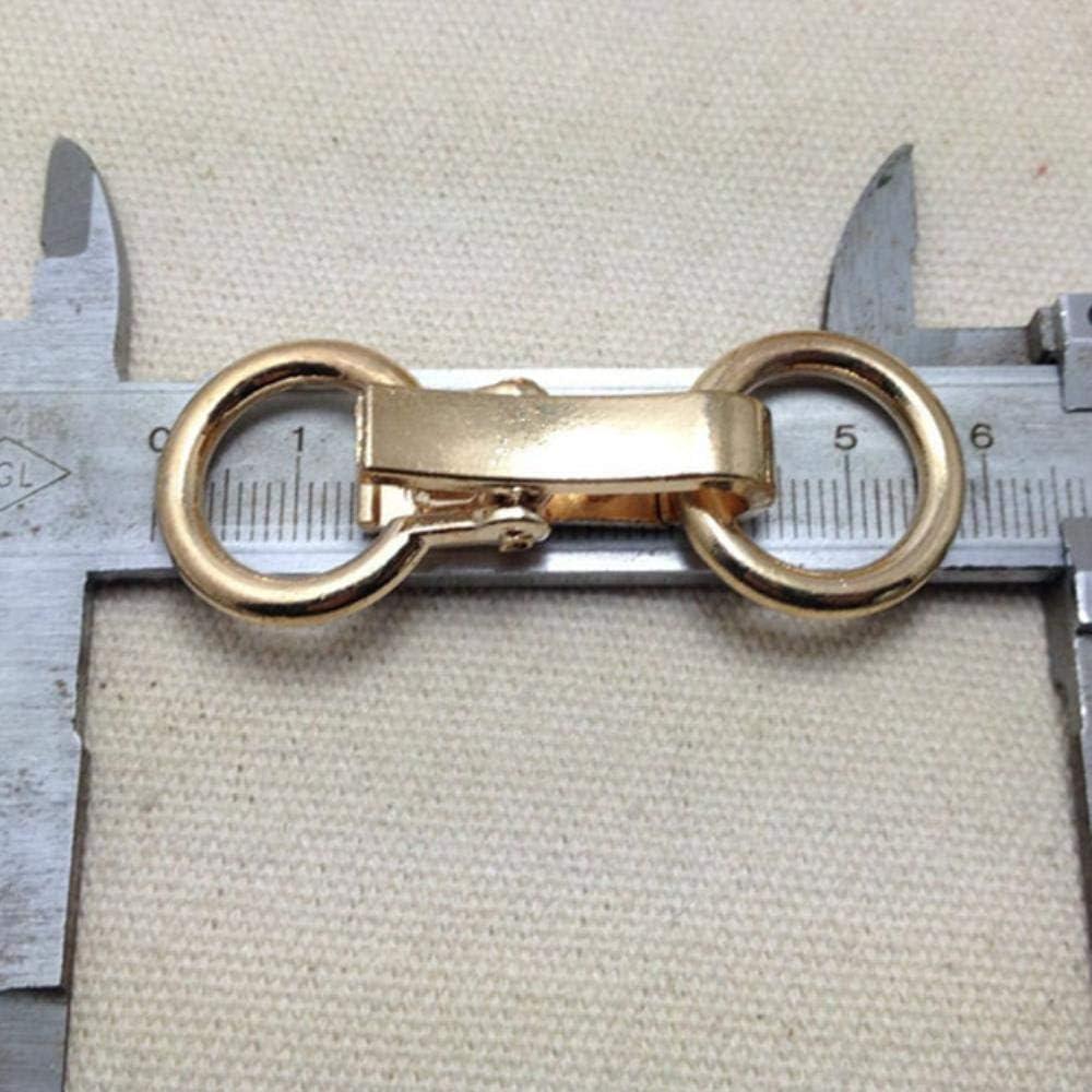 Gold ALENAOO 5 Paar//Lot Zinklegierung Verschluss f/ür Pelzmantel Metallschnalle Kn/öpfe Dekorative Schnalle f/ür Jacken Rucksack Taschen N/ähzubeh/ör