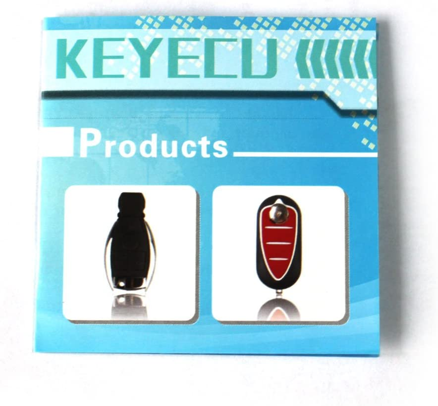 Keyecu Modified Flip Floding Remote Key Shell for S60 S70 S80 S90 V70 Case FOB 4+1 Button