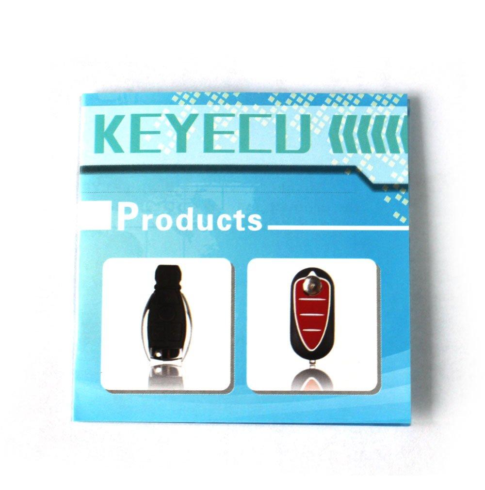 Keyecu Uncut Remote Key Fob 2 Button for SUZUKI SX4 with ID46 Chip 315MHZ