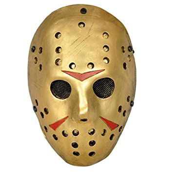 CCOWAY Costume Prop,Jason Voorhees Mask for Freddy Hockey Festival,Halloween, Party,