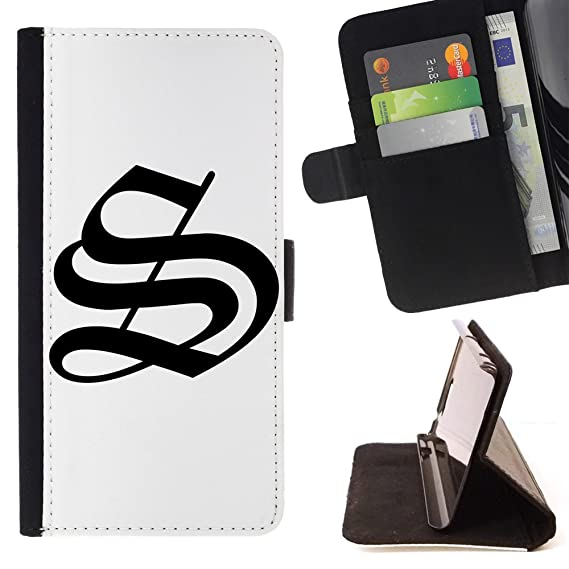 Amazon Stplus Letters Old English Wallet Card Holder Cover