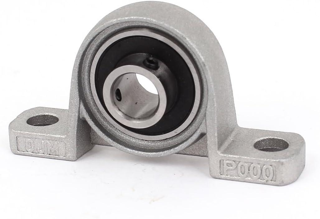 sourcingmap KP000 Auto Aligner 10mm Calibre Diam/ètre Roulement /À Bille Oreiller Bloc Insert