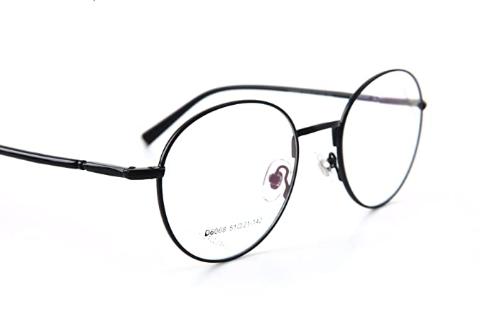 6525f917fb D6068 KHOTY 2018 New Fashion Eyeglasses Frame Imported Alloy Memory Metal Women s  Men s Optical Vintage Retro