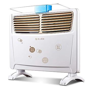 OR&DK Ultra Delgado Panel Calefactor, Calentamiento rápido Radiadores con Tendedero Y Caja de humidificación Impermeable