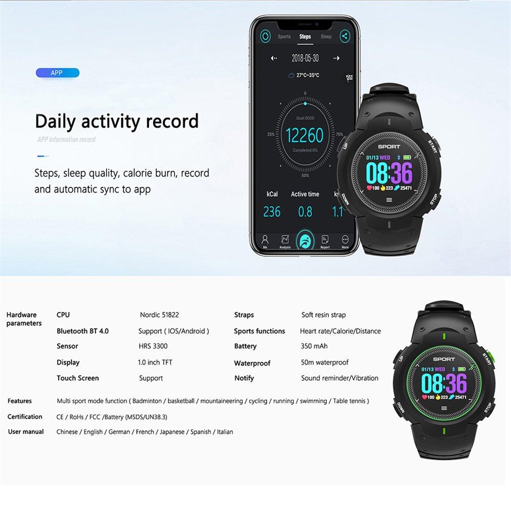 F13 Reloj Inteligente A Prueba De Agua IP68 Smartwatch Bluetooth ...