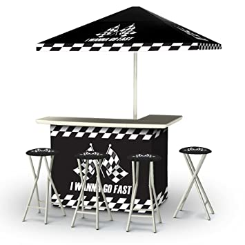 Amazon.com : Best of Times Portable Deluxe Bar, I Wanna Go Fast : Patio, Lawn & Garden