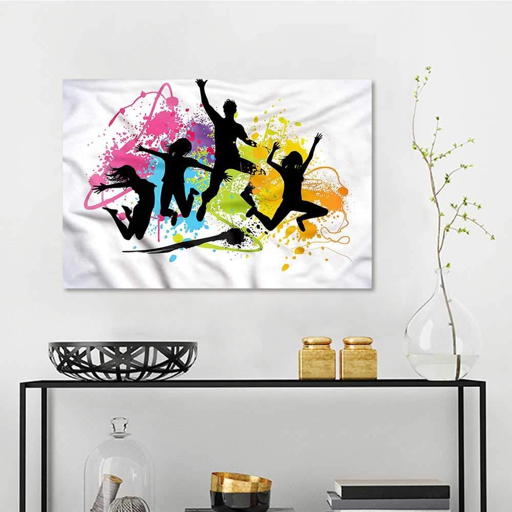 Amazon Com Mangooly Wall Painting Prints Youth Jumping Teens