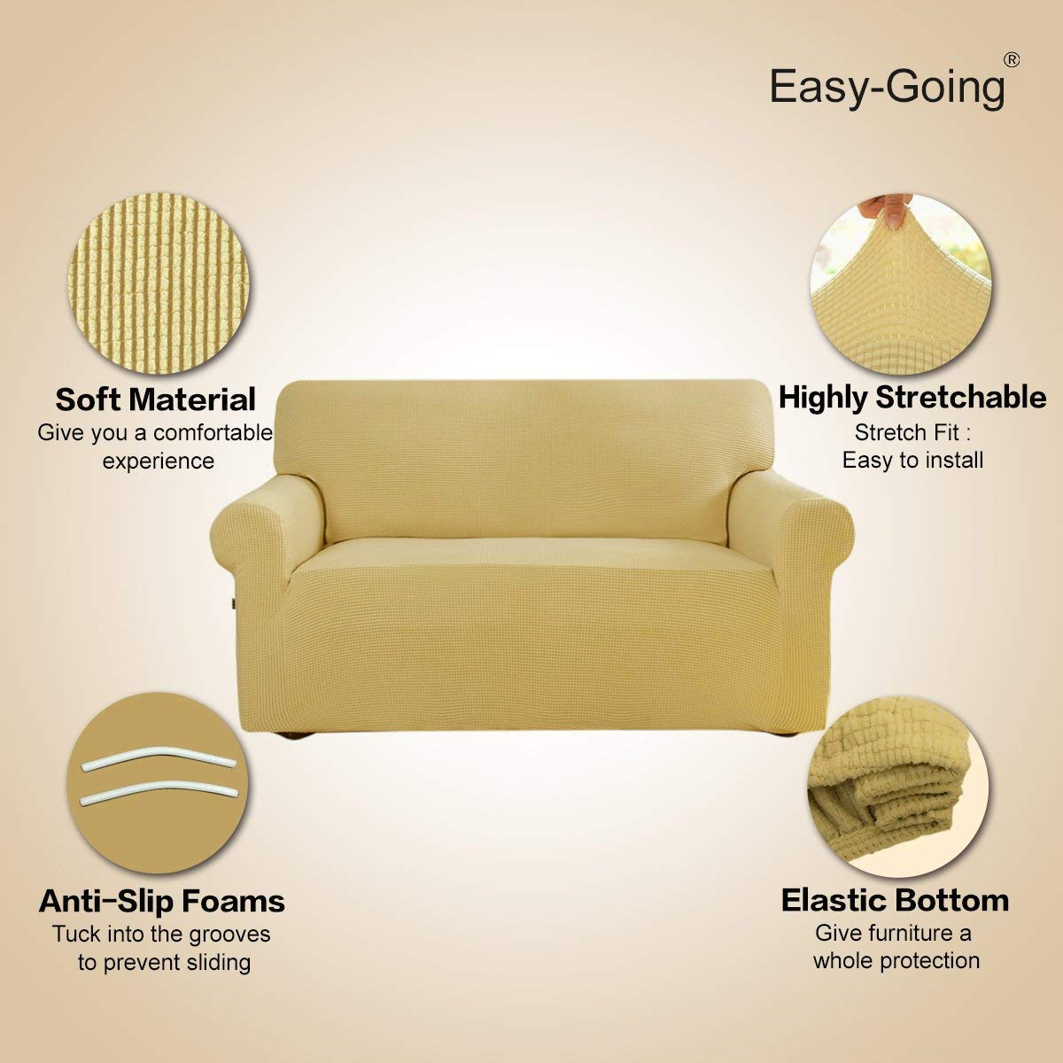 Easy-Going Stretch Slipcovers