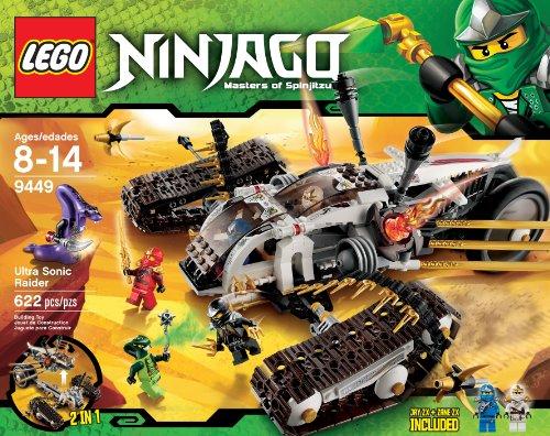 LEGO Ninjago Ultra Sonic Raider Set 9449 (Lego Venomari Ninjago)