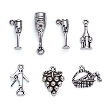 30pcs Tibetan Silve Fairy Pendants Charms for Jewelry Making