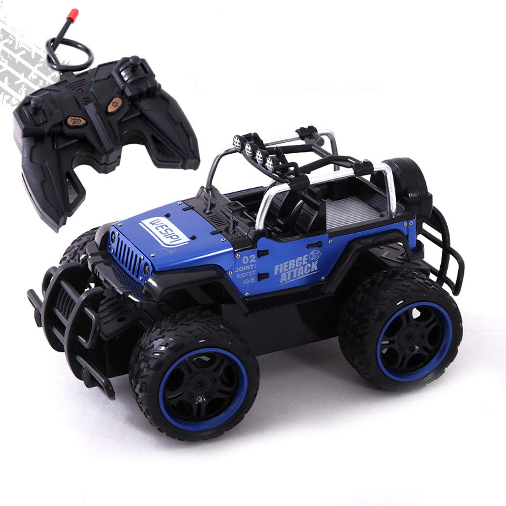 5 Remote Control Trucks Monster RC Car Off Road Vehicle 2.4Ghz Radio Remote Control Car 4WD High Speed Racing All Terrain Climbing Car Gift for Boys (color   6)