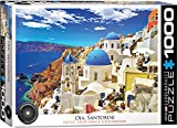 EuroGraphics Oia Santorini Greece Puzzle (1000 Piece)
