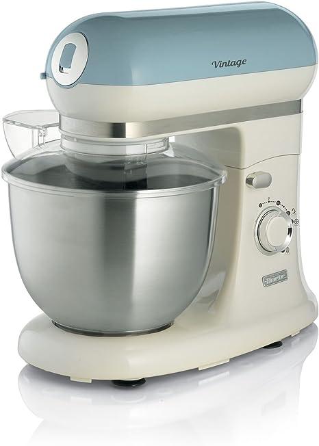 Ariete 1588/05 Robot de Cocina Color Azul y Crema, 2400 W, 7 Velocidades: Amazon.es: Hogar
