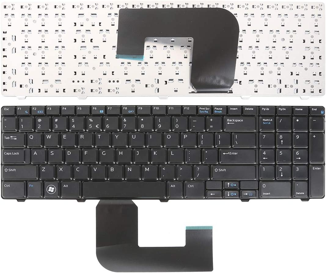 Laptop Replacement Keyboard for DELL Vostro 3700 Black Without Foil