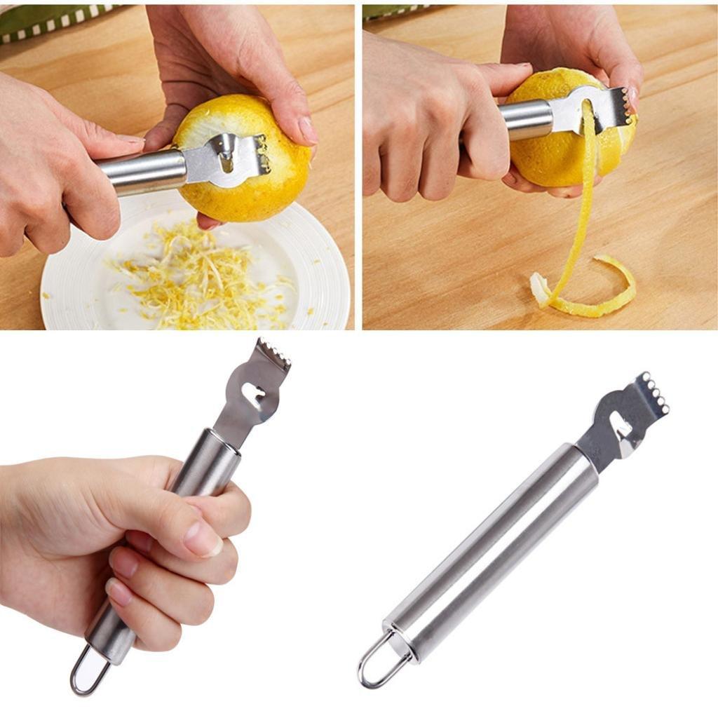 Iuhan Stainless Steel Peeler For Lemon And Orange Professional Kitchen Peeling Tool