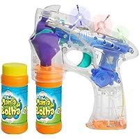 Lançador Mania De Bolha Cristal Com Luz - Dm Toys, Shop Toy