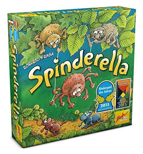 Spinderella Board Game