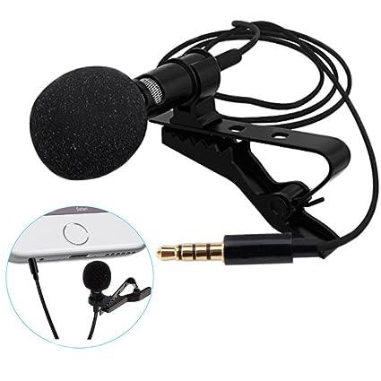 FB Sport Lavalier Micrófono de solapa Micrófono Mini para ...