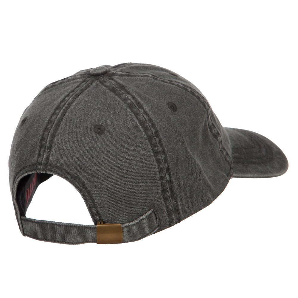 e4Hats.com Guinea Map Flag Embroidered Washed Cap