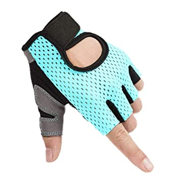 Summer Sports Fitness Gloves Female Weightlifting Exercise ...