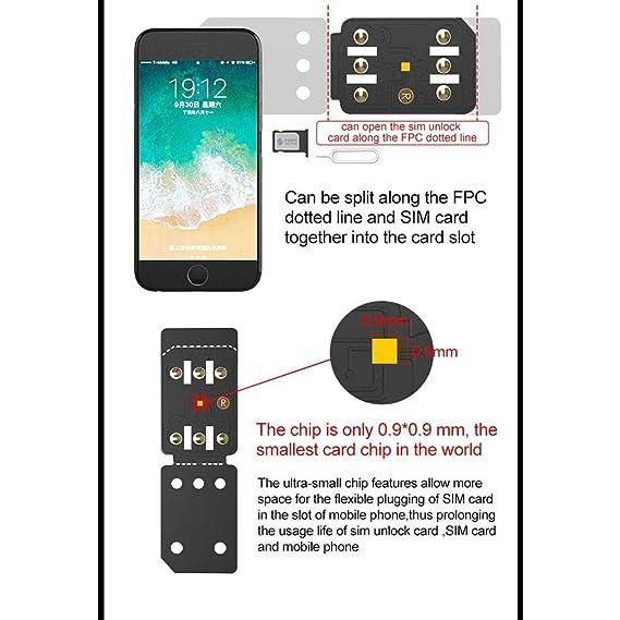 Amazon.com: Funda para tarjeta SIM nano desbloqueo ...