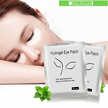 120 Pairs Set, Under Eye Patch by MuseMyst, Eye Mask Pack of 30, The Elixir Beauty MJ Korean Cosmetic Full Face Collagen Herb Essence Mask Pack Sheet for Vitality, Clarity, Mosturizing, Relaxing