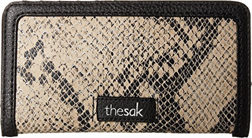 (The Sak Women's Iris Slim Wallet Bisque Exotic One Size)