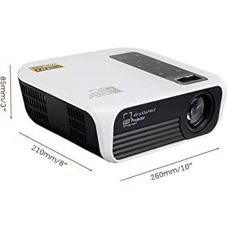 H1081 H1082 H1086-3D Proyectores Alda PQ-Premium H1085 L/ámpara de proyector Compatible con 5811116206-S para VIVITEK H1080 H1080FD l/ámpara con Carcasa