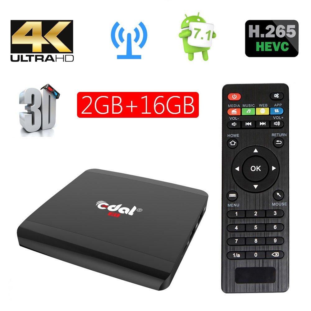 Edal Android 7.1 A95X R1 Amlogic 2G/16G Android TV BOX Quad-core Cortex-A53 Smart TV box