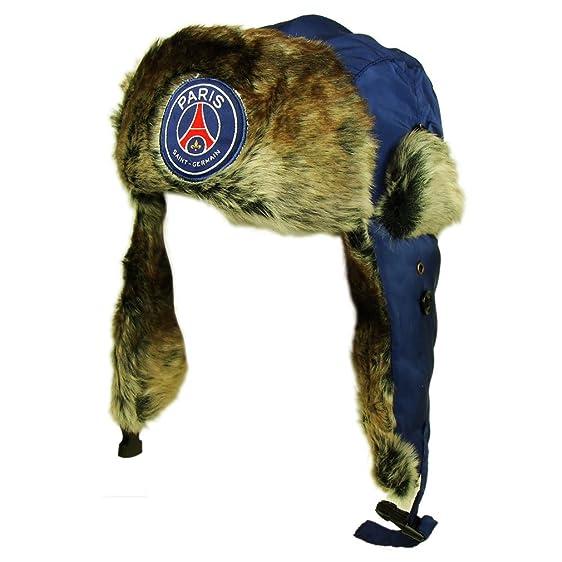 e0690094409 PSG - Official PSG Paris Saint-Germain Bomber Hat - Color   Blue at ...