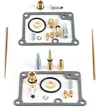 Carburetor Carb Rebuild Kit Repair For Yamaha Banshee YFZ350 YFZ 350 2 Carbs US