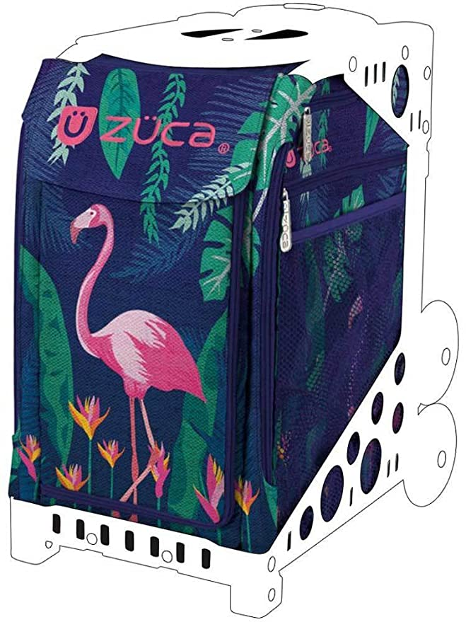 Amazon.com: ZUCA Pink Flamingo Sport Insert Bag (Frames Sold Separately): Sports & Outdoors