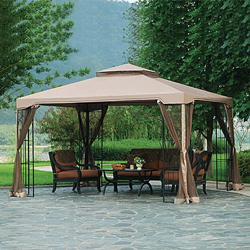 Garden Winds 10 X 12 Arrow Gazebo Replacement Canopy