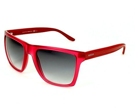 f3ea7846d15 Amazon.com  Gucci Sunglasses GG 3535  S 5D9BD Acetate Cherry ...